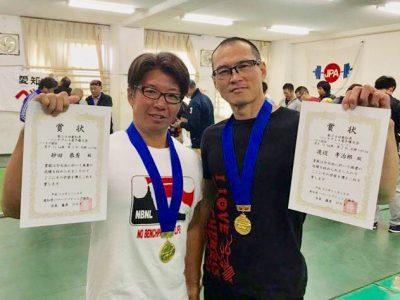 2018年11月 愛知県ベンチプレス選手権大会